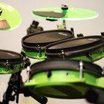 Pintech Visulite Flo Green Cymbals