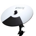 Pintech White Visulite Cymbal