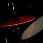 Pintech Flo Red Hi Hat Visulite Cymbal