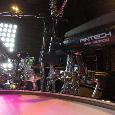 "Pintech 6"" Tubular Drum Pad - NR6"