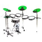 Road Pro Green Cymbals - SML