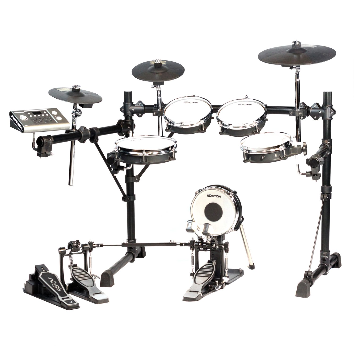 pintech pdk1000 electronic drum kit pintech percussion. Black Bedroom Furniture Sets. Home Design Ideas