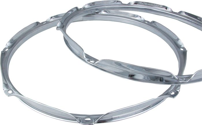 Chrome Drum Hoops - Various Sizes