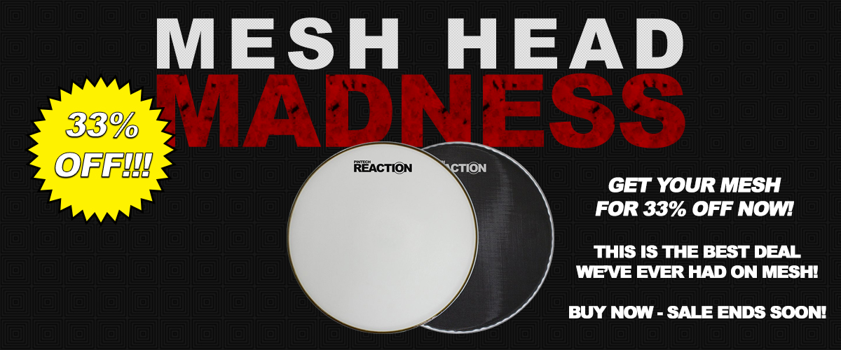 33% OFF ALL MESH HEADS!